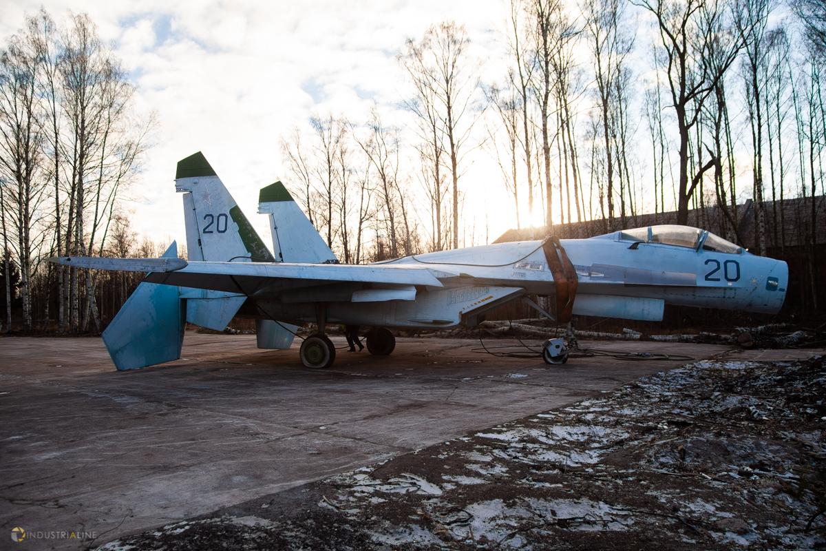 Су-27 в Кронштадте